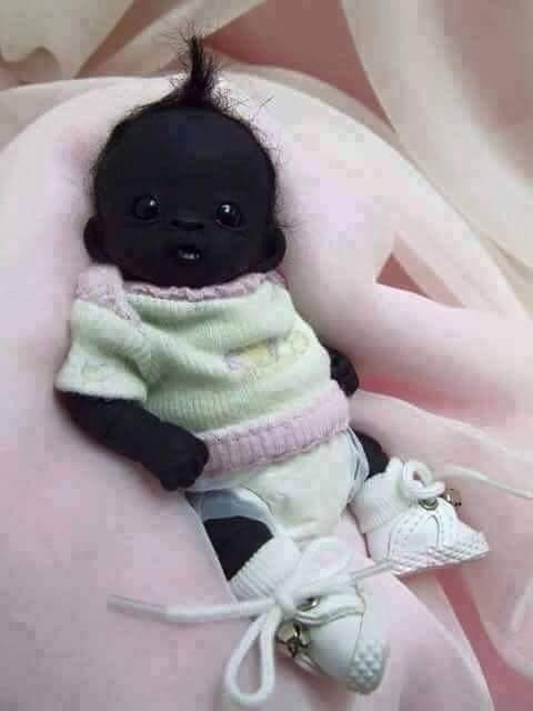 سیاه ترین بچه دنیا!
